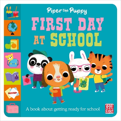 First Experiences: Piper Puppy First Day at School - Pat-a-Cake