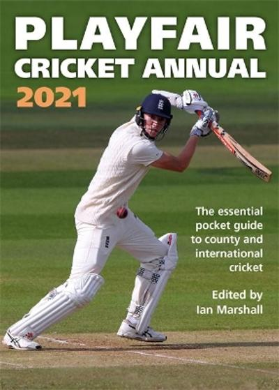Playfair Cricket Annual 2021 - Ian Marshall