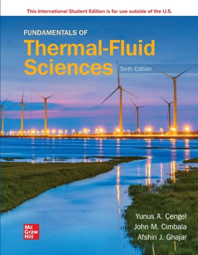 ISE eBook Online Access for Fundamentals of Thermal-Fluid Sciences - CENGEL