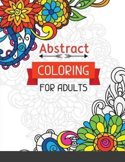 Abstract Coloring for Adults - Personaldev Books