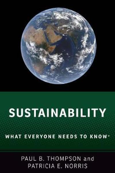 Sustainability - Paul B. Thompson