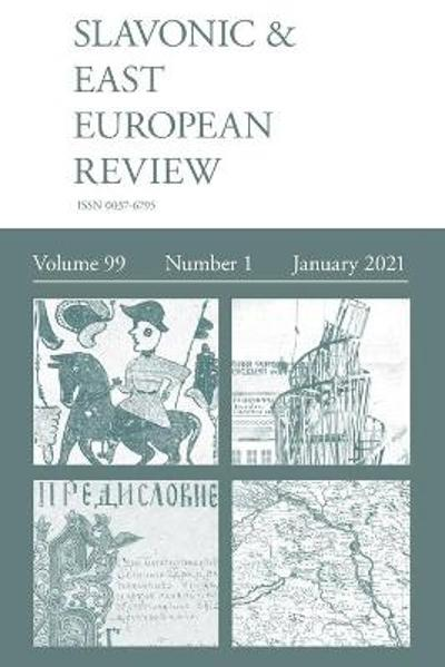 Slavonic & East European Review (99 - Martyn Rady
