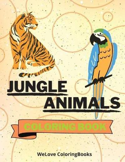 Jungle Animals Coloring Book - Wl Coloringbooks