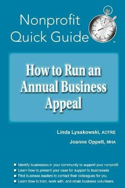 How to Run an Annual Business Appeal - Linda Lysakowski