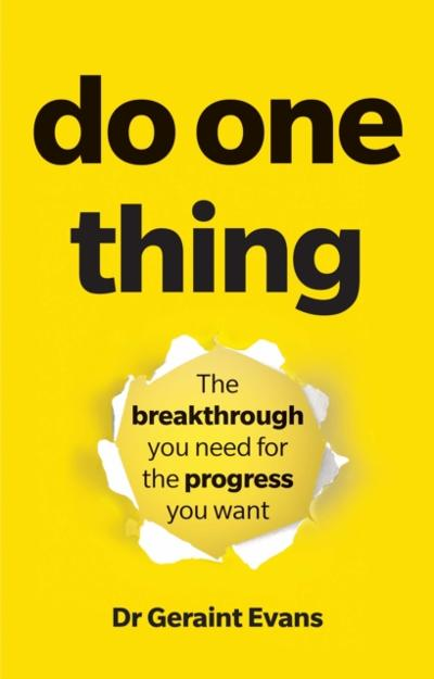Do One Thing PDF eBook - Evans