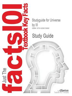Studyguide for Universe by III, ISBN 9780716746478 - 1st Edition Goffman
