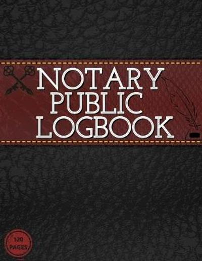 Notary Public Log Book - Guest Fort C O