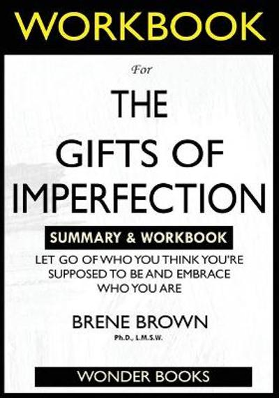 WORKBOOK For The Gifts of Imperfection - Wonder Books