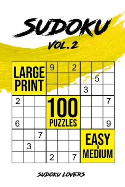 Sudoku Large Print - Sudoku Lovers