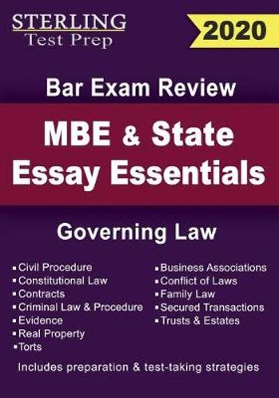 Sterling Test Prep MBE and State Essays Essentials - Sterling Test Prep