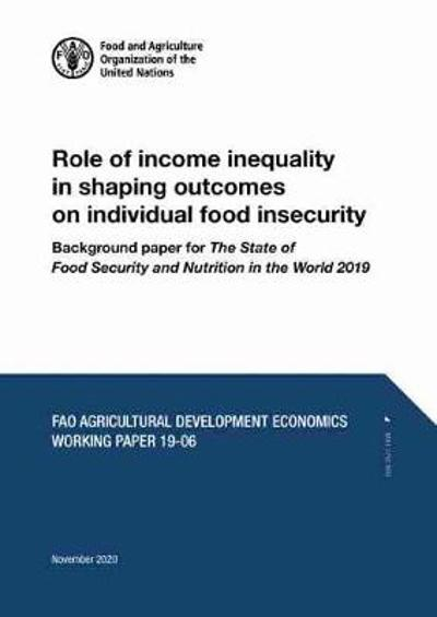 Role of Income Inequality in Shaping Outcomes on Individual Food Insecurity - C. Holleman
