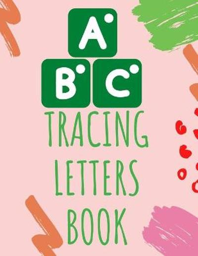 Tracing Letters Book - Cristie Publishing