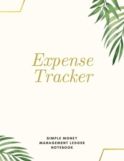 Expense Tracker Simple Money Management Ledger Notebook - Adil Daisy