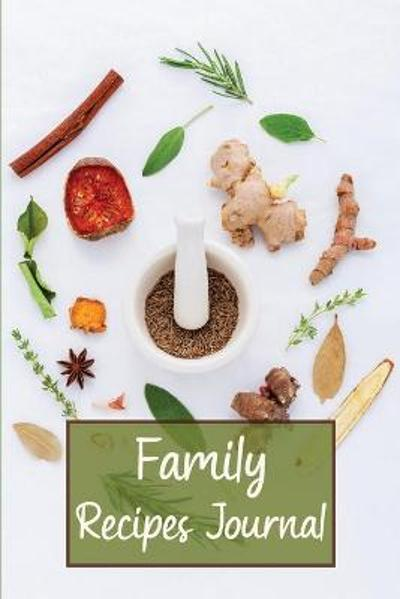 Family Recipes Journal - Victor Hewitt Books