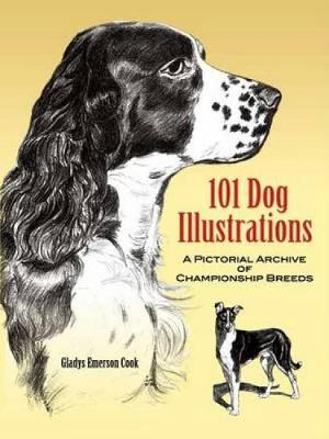 101 Dog Illustrations - Gladys Emerson Cook