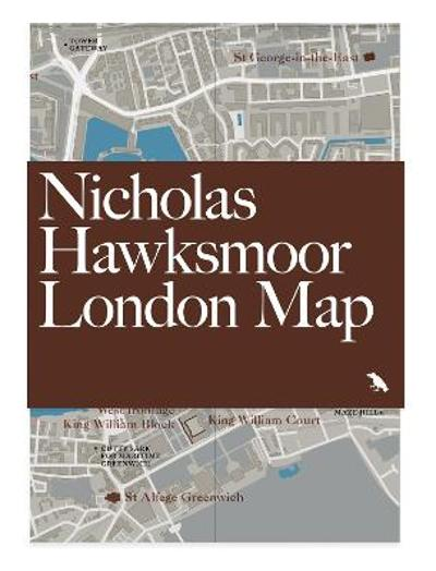 Nicholas Hawksmoor London Map - Owen Hopkins