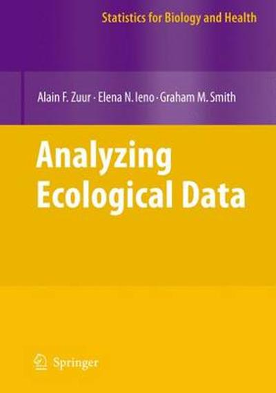 Analyzing Ecological Data - Alain F. Zuur
