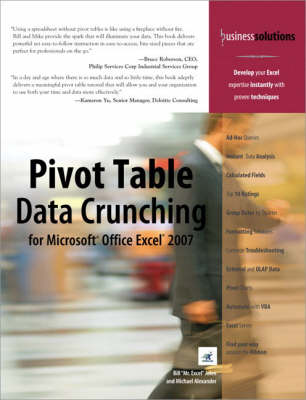 Pivot Table Data Crunching for Microsoft Office Excel 2007 - Bill Jelen