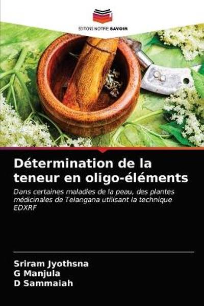 Determination de la teneur en oligo-elements - Sriram Jyothsna