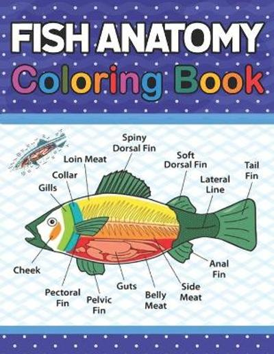 Fish Anatomy Coloring Book - Jarniaczoll Publication