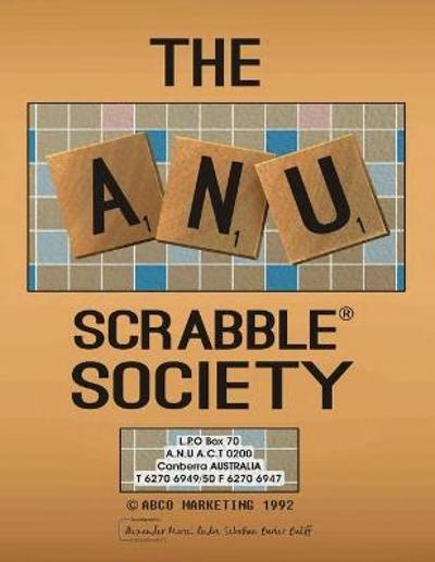 The ANU Scrabble Society - Alexander Bailiff