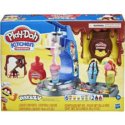Play-Doh Drizzy Ice Cream Playset - Play-Doh