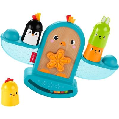 Fisher Price Stack & Rattle Birdie - Fisher Price
