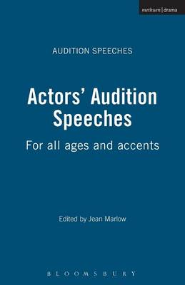 Actors' Audition Speeches - Jean Marlow