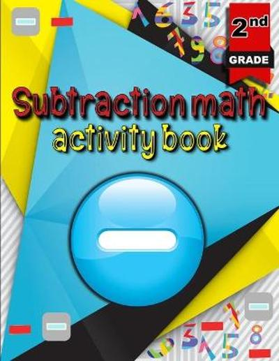 Subtraction math activity book - Moty M Publisher