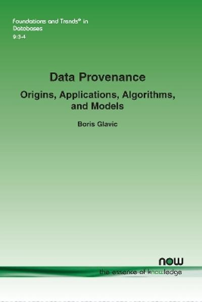 Data Provenance - Boris Glavic