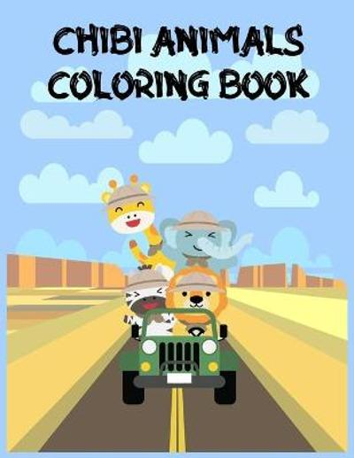 Chibi Animals Coloring Book - Sara Brand Coloring