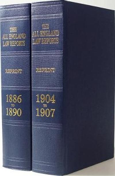All England Law Reports Reprint (1558 - 1935) Set -