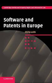 Software and Patents in Europe - Philip Leith