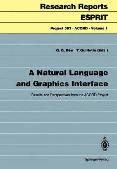 A Natural Language and Graphics Interface - Gabriel G. Bes