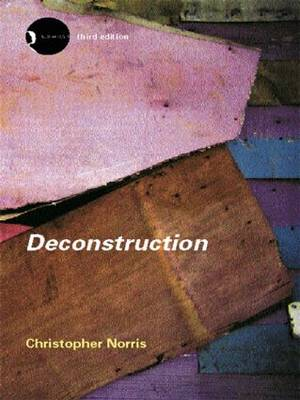Deconstruction - Christopher Norris
