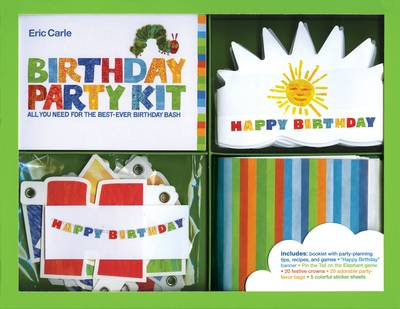 Eric Carle Birthday Party Kit - Eric Carle