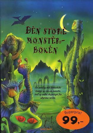 Den store monsterboken - Andy Charman