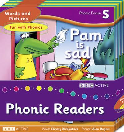 Words and Pictures Fun with Phonics Readers Multi-Pack -