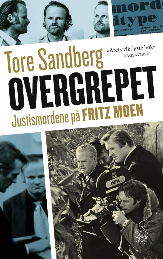 overgrepet tore sandberg paperback 9788202285302