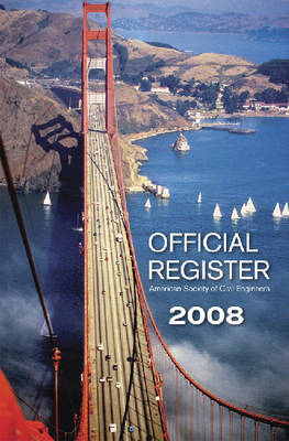 Official Register 2008 - American Society of Civil Engineers