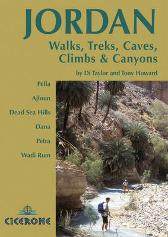 Jordan - Walks, Treks, Caves, Climbs and Canyons - Tony Howard Di Taylor