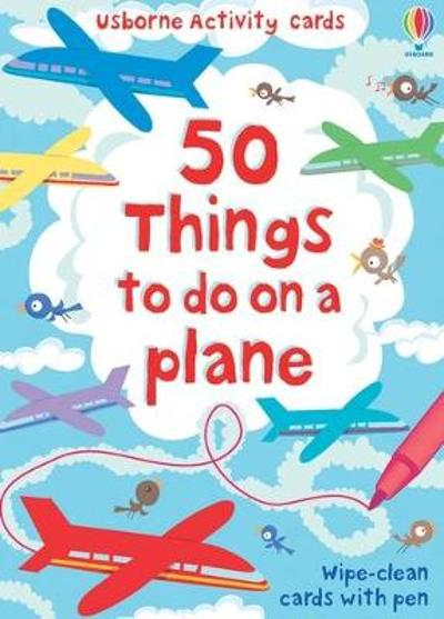 100 things to do on a plane - Emily Bone