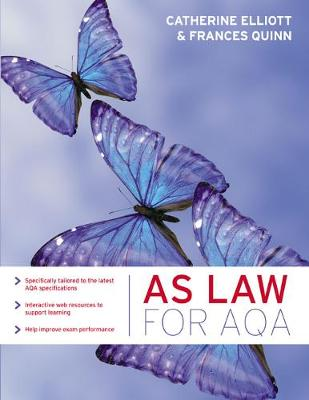AS Law for AQA - Catherine Elliott