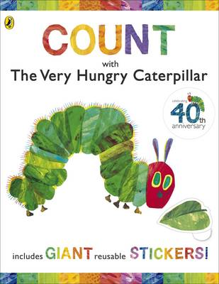 Count With The Very Hungry Caterpillar Sticker Book - Eric Carle