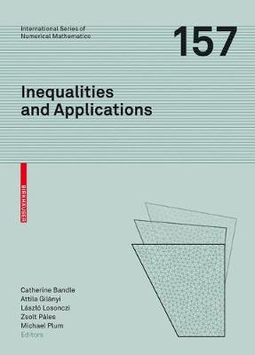 Inequalities and Applications - Catherine Bandle