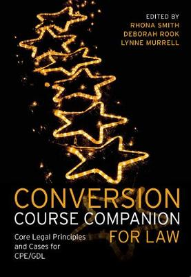 Conversion Course Companion for Law - Rhona Smith