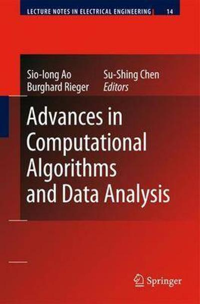 Advances in Computational Algorithms and Data Analysis - Sio-Iong Ao