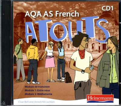 Atouts: AQA AS French Audio CD Pack of 2 -