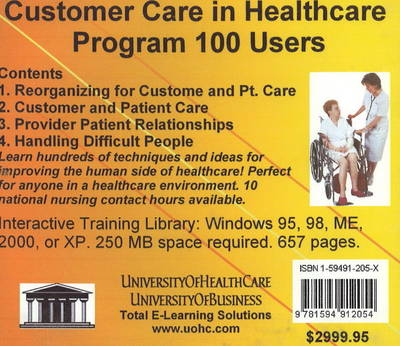 Customer Care in Healthcare, 100 Users - Daniel Farb