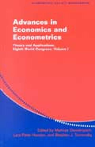 Advances in Economics and Econometrics 3 Volume Hardback Set - Mathias Dewatripont